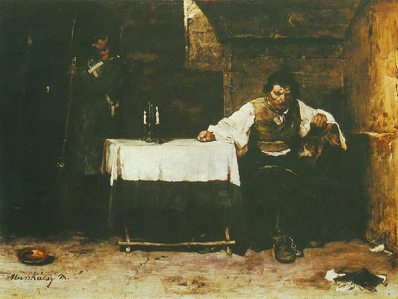 ' The Last Day of a Condemned Man (1869) by Mihály Munkácsy. In the public domain (Wikimedia Commons)
